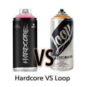 Comparativa Spray Hardcore vs Spray Loop