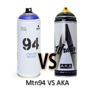 spray mtn94 vs aka