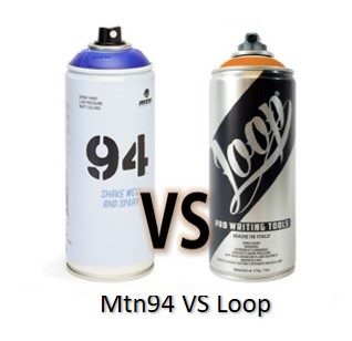 spray mtn94 vs loop